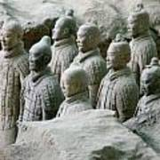 Terracotta Army Xi'an Art Print
