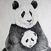 Terris Pandas Art Print