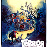 Terror House Aka Club Dead Terror At Art Print by Everett