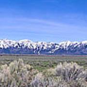 Teton National Park Panarama Art Print