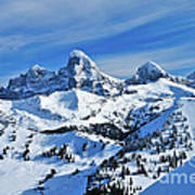 Teton Winter Art Print