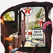 Texaco Advertisement, 1938 Art Print