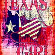 Texas Girl Art Print