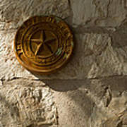 Texas State Seal Art Print