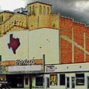 Texas Theater II Art Print