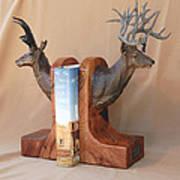 Texas Trophies Art Print by J P Childress