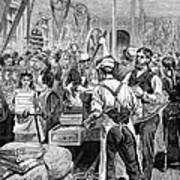 Textile Mill, 1881 Art Print by Granger