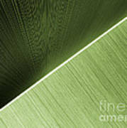 Patterns And Colors. Green. Art Print