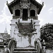 Thai Architecture Art Print