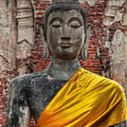Thai Buddha Art Print by Adrian Evans