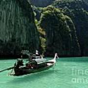 Thai Long Tail Boat  Art Print