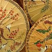 Thai Umbrellas 2 Art Print