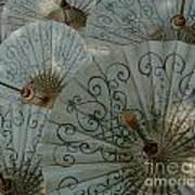 Thai Umbrellas 3 Art Print