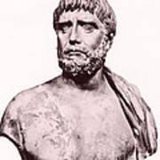 Thales, Ancient Greek Philosopher Art Print by Photo Researchers