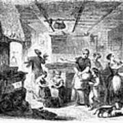 Thanksgiving, 1855 Art Print
