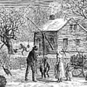 Thanksgiving, 1882 Art Print