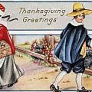 Thanksgiving, C1900 Art Print