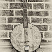 That Old Banjo Mandolin Art Print