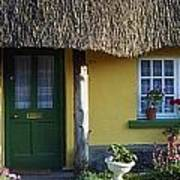 Thatched Cottage, Adare, Co Limerick Art Print