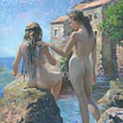 The Adriatic Sea Mmxi Art Print