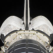 The Aft Portion Of The Space Shuttle Art Print