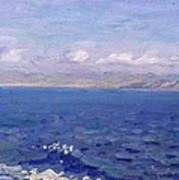 The Albanian Sea Art Print