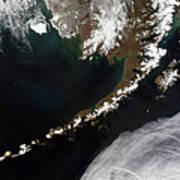 The Aleutian Islands And The Alaskan Art Print