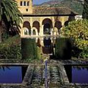 The Alhambra Palace Of The Partal Art Print
