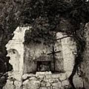 The Altar 2 Bw Art Print