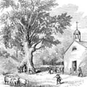 The Ancient Oak Art Print by Granger