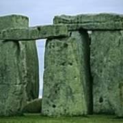 The Ancient Ruins Of Stonehenge Art Print