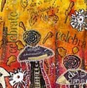 The Angel Brigade - Cropped Version Art Print