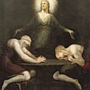 The Appearance Of Christ At Emmaus Art Print