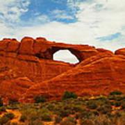 The Arches Of Utah Art Print