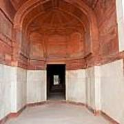 The Architecture And Doorways Of The Humayun Tomb In Delhi Art Print
