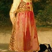 The Artist's Daughter - Hilde   Art Print