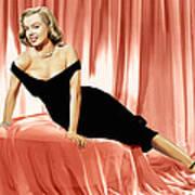 The Asphalt Jungle, Marilyn Monroe, 1950 Art Print