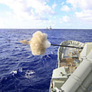 The Australian Navy Frigate Hmas Art Print