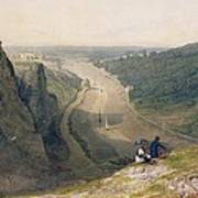 The Avon Gorge - Looking Over Clifton Art Print