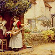 The Ballad Seller Art Print
