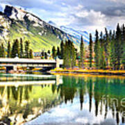 The Banff Bridge Art Print