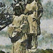 The Baptism Art Print
