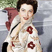 The Barefoot Contessa, Ava Gardner, 1954 Art Print