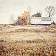 The Barn On The Hill Art Print