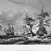 The Battle Of Texel, 1673 Art Print