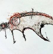 The Beasts 1  Art Print