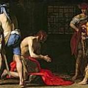 The Beheading Of John The Baptist Art Print