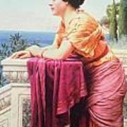 The Belvedere Art Print by John William Godward