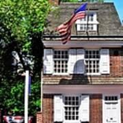 The Betsy Ross House Art Print