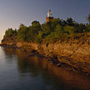 The Big Bay Point Lighthouse, Now A Bed Art Print
